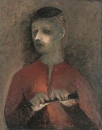 la luminaria (Il suonatore di flauto)1927