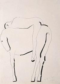 Giocoliere a cavallo1944