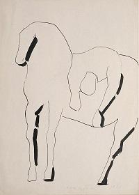 Acrobata a cavallo1946