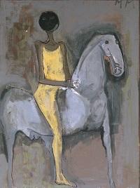 gentiluomo a cavallo 1938 circa