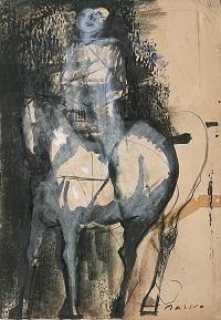 Cavallo e cavaliere1948