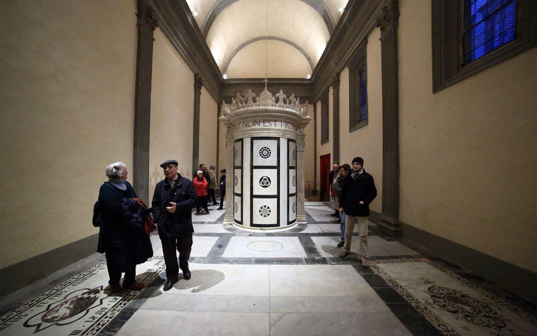 Riapre la Cappella Rucellai