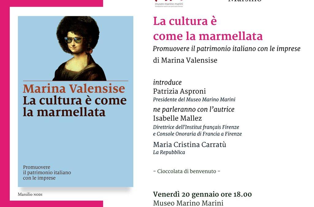 """""""La cultura è come marmellata"""": la presentazione del libro di Marina Valensise al Museo Marino Marini"""