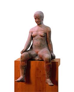 Ragazza seduta (Jeune fille) 1930