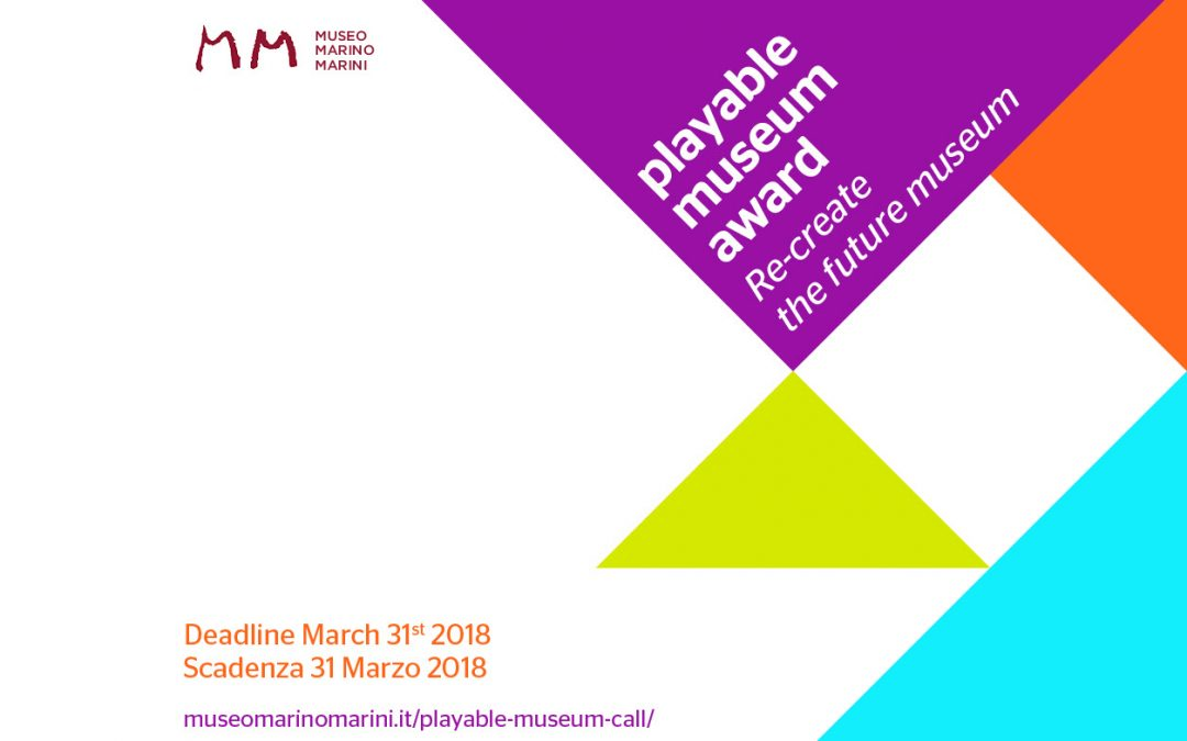 Playable Museum Award: call and application form
